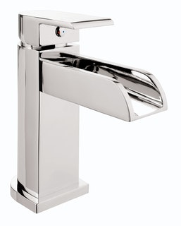 Sanitop Einhandmischer Aqua für Waschtisch Wasserfall Chrom