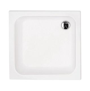 Acryl-Brausewanne Sono 90 x 90 x 4 cm weiß