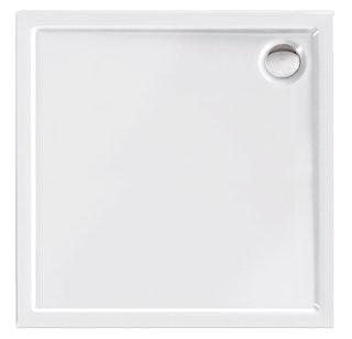Acryl-Brausewanne Teso square, weiß