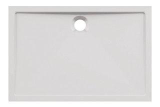 Acryl-Brausewanne Teso 80 weiß