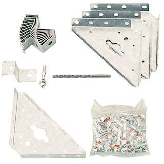 Arrow/Pergart Verankerungs-Set AK 100 für Betonfundamente oder Waschbetonplatten