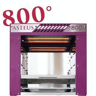 Asteus -pink Willy- 800 Grad Infrarot Elektro Grill