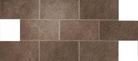 Atlas Concorde Dekorfliese DWELL brown leather Brick, Lappato