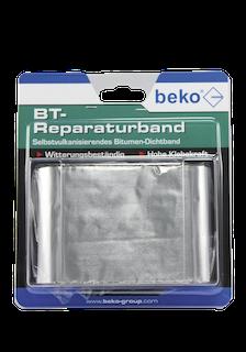 beko BT-Reperaturband, 75 mm x 1,5 m, alu blank
