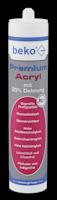 beko Premium-Acryl mit 20% Dehnung