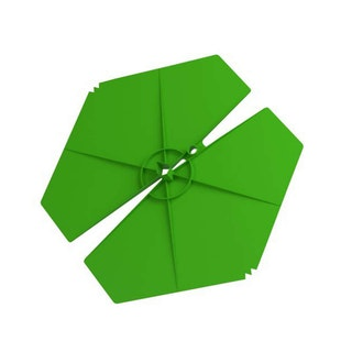 BEVER ISO-CLIP-maxi grün d=100 mm