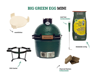 Big Green Egg Mini Holzkohlegrill (Starter-Set)