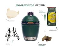 Big Green Egg Medium Holzkohlegrill (Starter-Set)