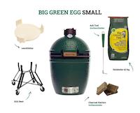 Big Green Egg Small Holzkohlegrill (Starter-Set)