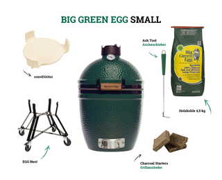 Big Green Egg Small Holzkohlegrill (Starter-Set)