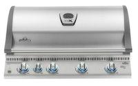 NAPOLEON LEX 605 Einbaugrillaufsatz Edelstahl