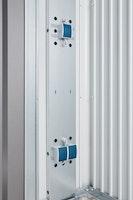 Biohort Elektro-Montagepanel für Gerätehaus AvantGarde, HighLine und Panorama