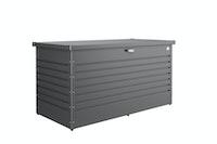 Biohort Freizeitbox - 160 x 79 x 83 cm (Größe 160 HIGH) - dunkelgrau-metallic - B-Ware