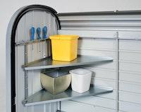 Biohort Eckregale-Set für Rollladenbox Storemax 120 und 160