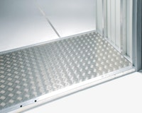 Biohort Alu-Bodenplatte für MiniGarage
