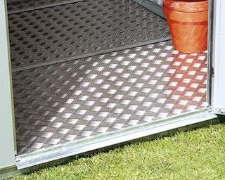Alu-Bodenplatte für Biohort Gerätehaus Avantgarde