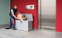 Biohort Paket-Box Metallbox