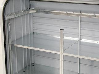 Zwischenboden für Biohort Rollladenbox Storemax 160 und 190
