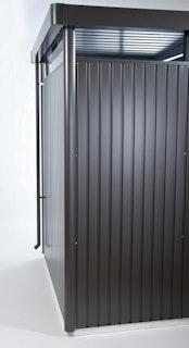 Biohort Regenfallrohr-Set für Gerätehaus HighLine