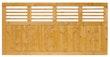 BM Serie Linear Zaunfeld 180x90 cm