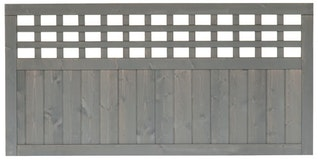 BM Serie Fehmarn Zaunfeld 180x90 cm