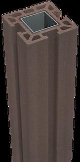 GroJa Solid Stecksystem Pfosten zum Einbetonieren 10 x 10 x 150 cm