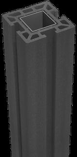 GroJa Solid Stecksystem Pfosten zum Aufdübeln 10 x 10 x 100 cm