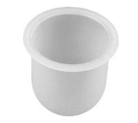 Bravat Tropfschale für WC-Bürstengarnitur Metasoft - Kunststoff, mineralweiß