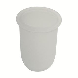 Bravat Tropfschale für WC-Bürstengarnitur Varuna und Quaruna, mineralweiß