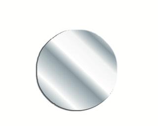 Bravat Sichtblende für Klebepunkt für Designserie Varuna, chrom