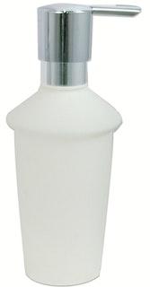Bravat Flasche für Flüssigseifenspender Metasoft - mit Pumpkopf, chrom