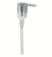 Bravat Pumpkopf für Flüssigseifenspender Metasoft - Kunststoff, chrom