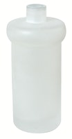 Bravat Flasche für Flüssigseifenspender Varuna, Quaruna und Metasoft, mineralweiß