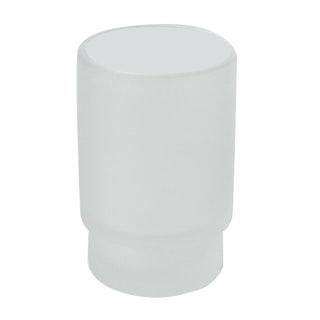 Bravat Glas für Glashalter Varuna und Quaruna, mineralweiß