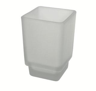 Bravat Glas für Glashalter New York, mineralweiß