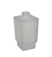 Bravat Flasche für Flüssigseifenspender New York, mineralweiß