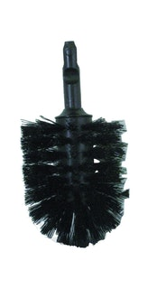 Bravat Toilettenbürstenkopf für Toilettenbürstengarnitur Varuna, Quaruna und Metasoft, schwarz