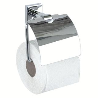 Bravat WC-Papierhalter mit Deckel Quaruna, chrom