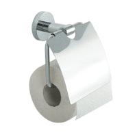 Bravat WC-Papierhalter mit Deckel Varuna, chrom