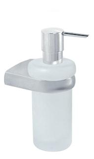 Bravat Flüssigseifenspender Metasoft - Glas, chrom