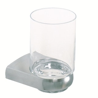 Bravat Glashalter Metasoft, chrom