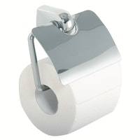 Bravat WC-Papierhalter mit Deckel Metasoft, chrom