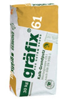 Gräfix 61 Kalk- Grundputz Haar grob