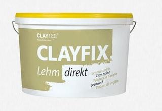 CLAYTEC Clayfix Lehm-direkt Lehmfarbe 10 kg versch. Farben