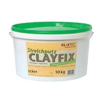 CLAYTEC Clayfix Lehm-direkt Streichputz 10 kg