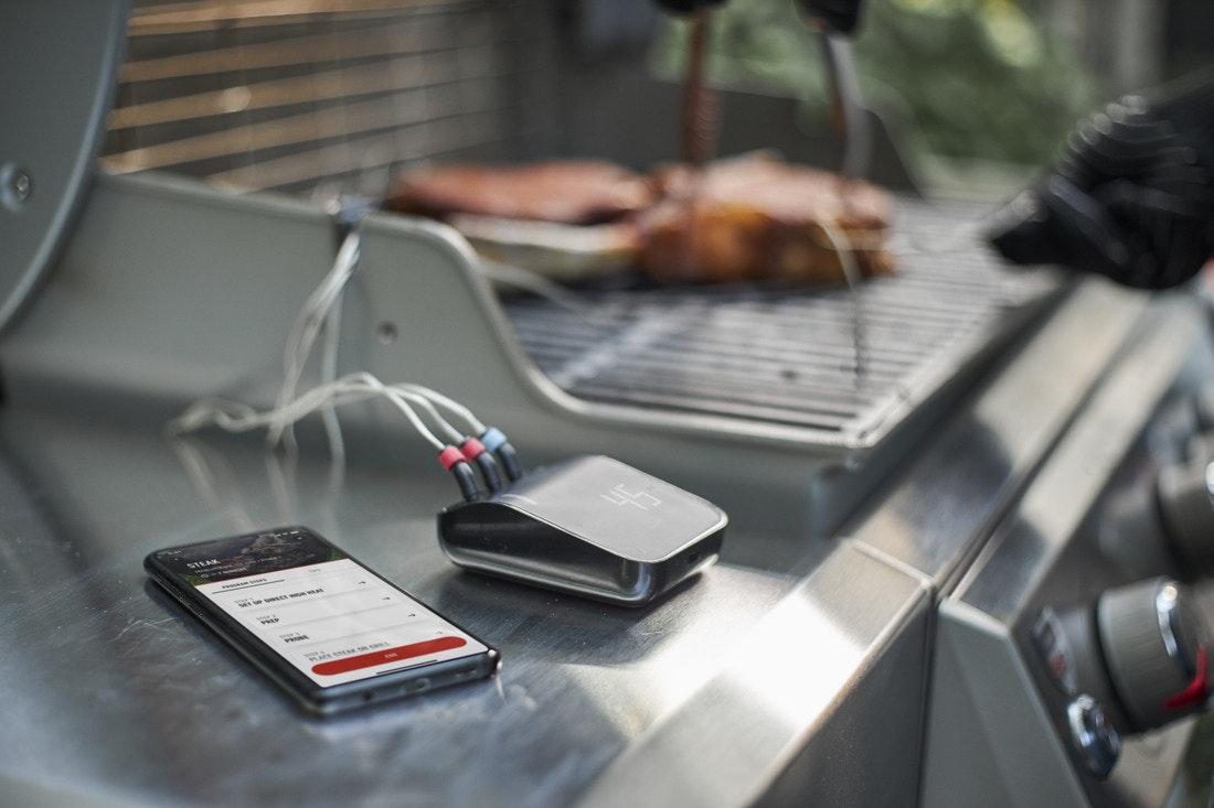 Mit dem Smart Grilling Hub wird jeder Weber Grill zum Smartgrill
