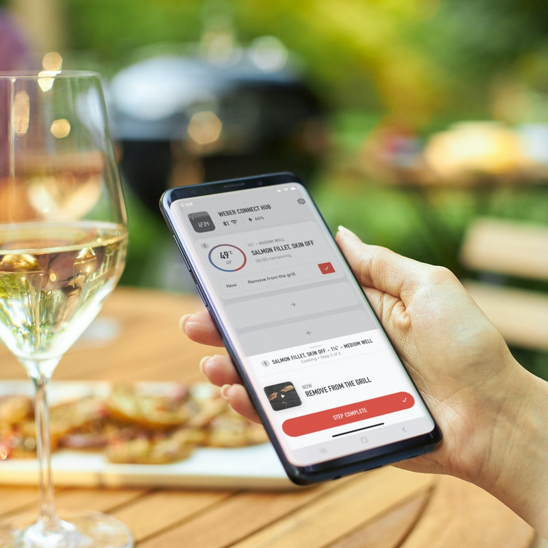 Smartes Grillen mit der Weber Connect App