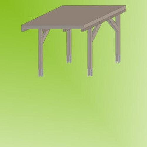 Pavillon/Carport aufbauen: Schritt für Schritt