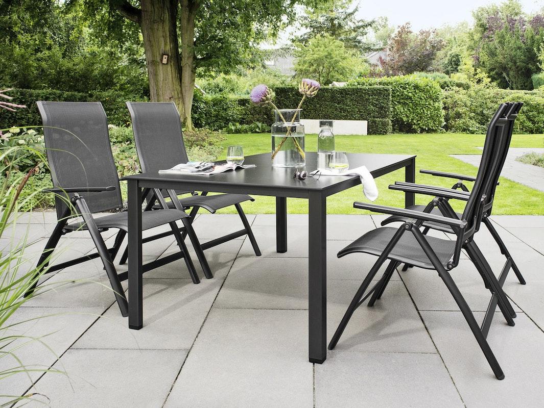 Die Terrassebmöbel der Legato Curve Serie von Kettler bieten langlebige Markenqualität