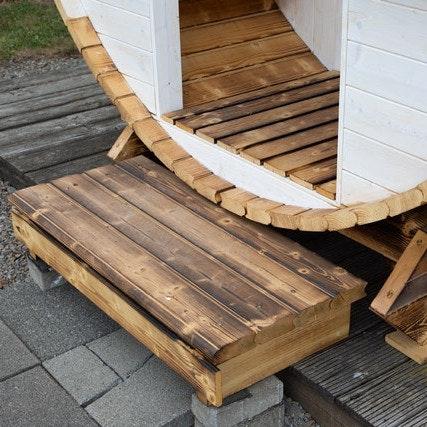 Wolff Finnhaus Premium Saunafass Finja 1